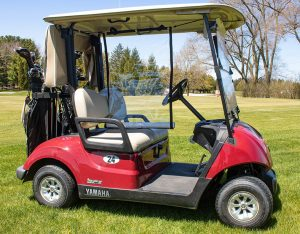 golf cart palstic divider